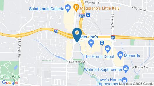 Drury Inn & Suites St. Louis Brentwood Map
