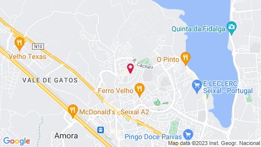 Casa de Vasco Map