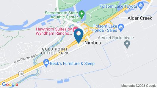 Comfort Inn & Suites Rancho Cordova - Sacramento Map