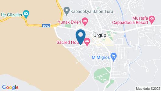 Kayhan Cave Villa Map