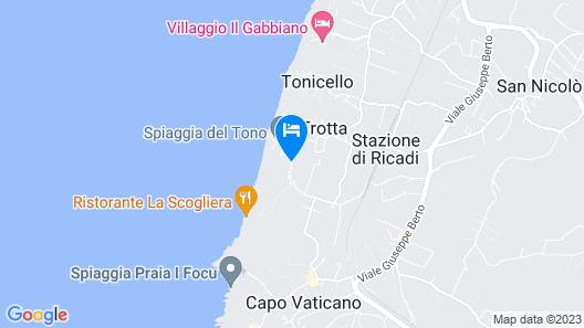 Capovaticano Resort Thalasso Spa - MGallery Hotel Collection Map
