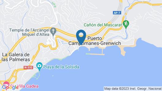 Pierre & Vacances Altea Beach Map