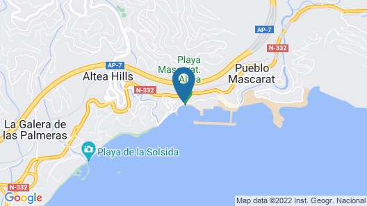 Altea Beach Resort Map