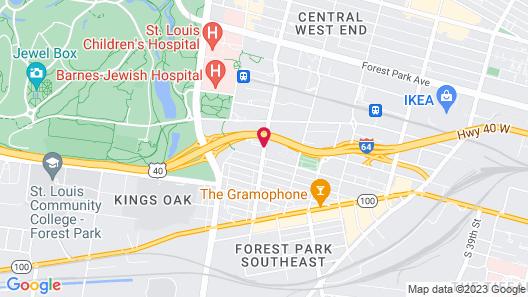 Home2 Suites by Hilton St. Louis/Forest Park Map