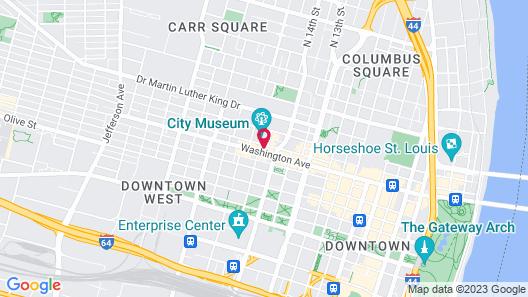 The Last Hotel STL Map