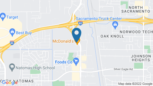 Extended Stay America Sacramento - Northgate Map