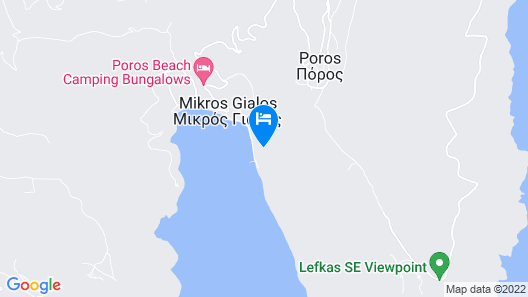 San Nicolas Resort Hotel Map