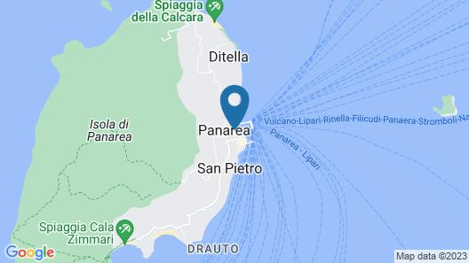 Hotel Lisca Bianca Map
