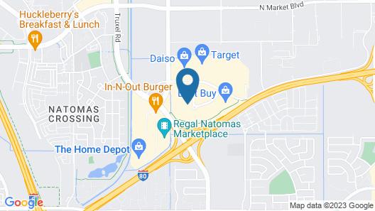 Staybridge Suites Sacramento Airport Natomas, an IHG Hotel Map