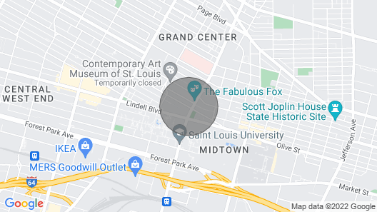 The Gatsby Penthouse Map