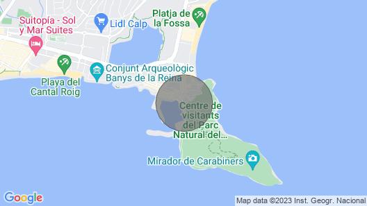 Rosa Marina - Costa Carpediem Map