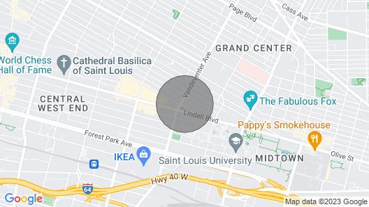 Westminster: Serene Studio Across From SLU Map