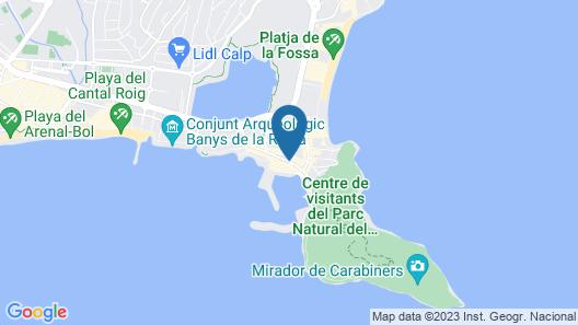 Hotel Porto Calpe Map