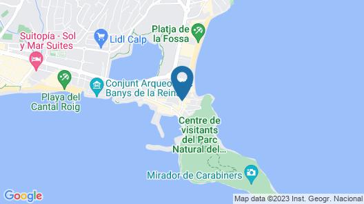 Apartamento Mar 2 Costa Calpe Map