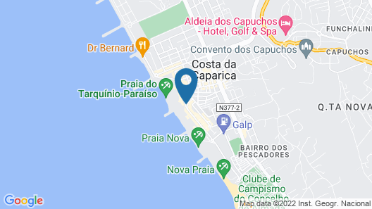 TRYP Lisboa Caparica Mar Hotel Map