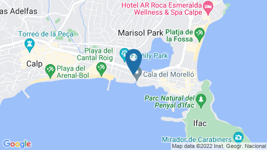 Port Europa Hotel Map