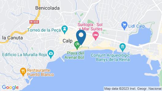 Apartamentos Del Mar - Only Adults Map