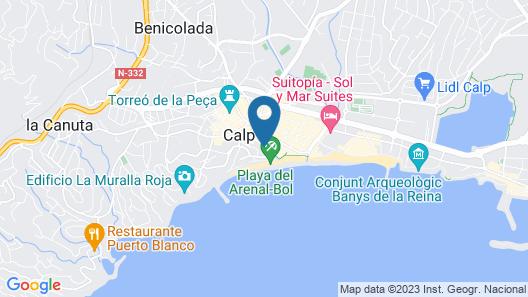 Hotel Bahía Calpe by Pierre & Vacances Map