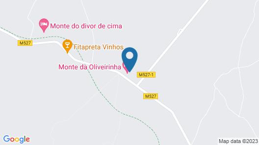 Oliveirinha Country House Map