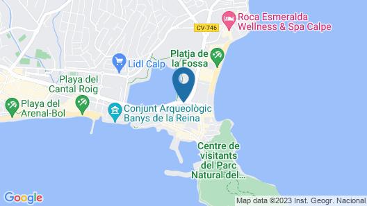 Hotel RH Ifach Map