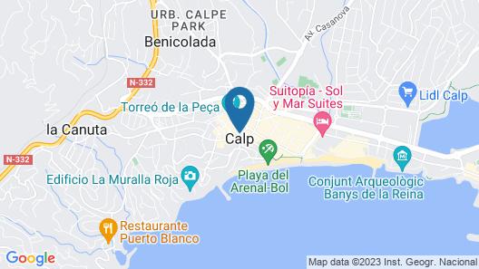 Mediterráneo Camper Area Map