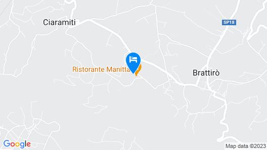 Agriturismo Manitta Map