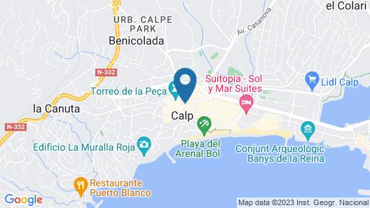 Villas Costa Calpe - Alonso Map
