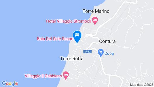 Baia del Sole Resort Map