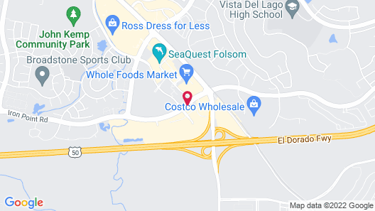 Residence Inn by Marriott Folsom Sacramento Map