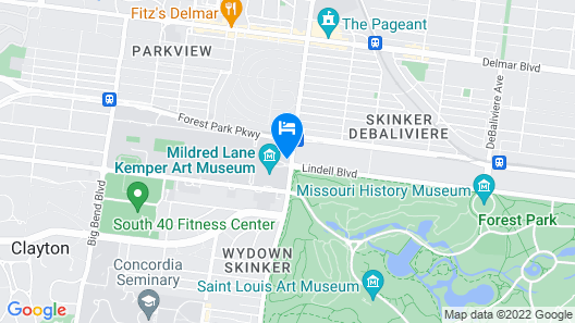 The Charles F. Knight Center Map