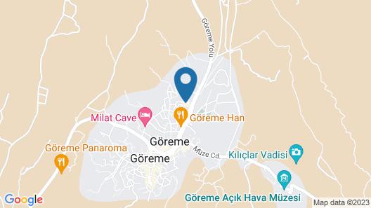 Royal Stone Houses - Goreme Map