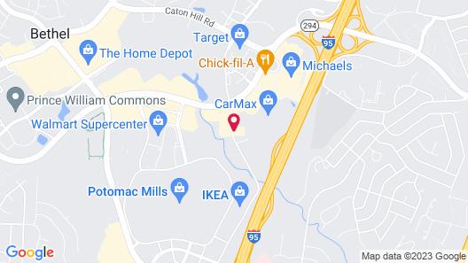 Home2 Suites by Hilton Woodbridge Potomac Mills Map