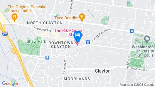 The Ritz-Carlton, St. Louis Map