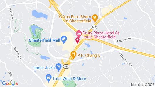 Hyatt Place St. Louis/Chesterfield Map