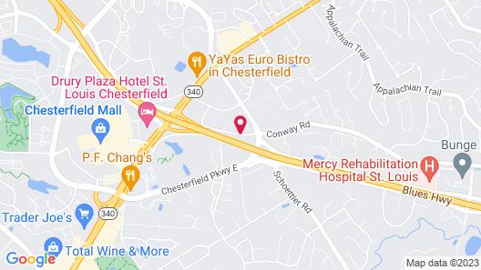 Sonesta ES Suites St. Louis - Chesterfield Map