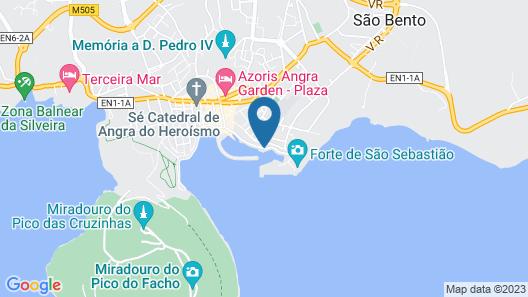 Barceló Angra Marina Map