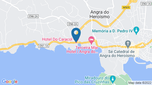 Hotel Do Caracol Map