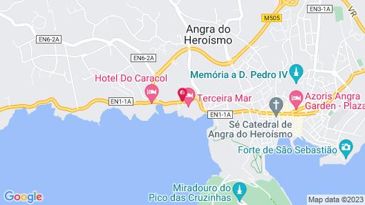 Terceira Mar Hotel Map