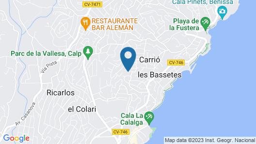 Villas Costa Calpe - Bellavista Map
