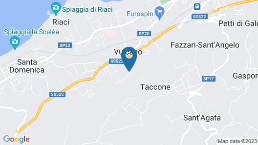 Il Borgo della Pace Beach Club Map