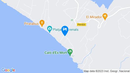 Hotel Riu La Mola Map