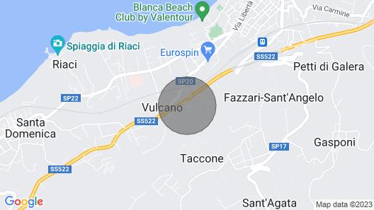 Rosa DEI Venti Accomodation Map