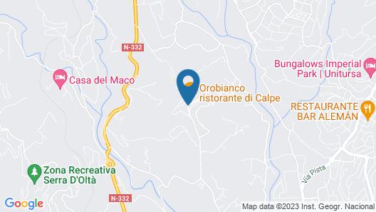 Colina Home Resort Map