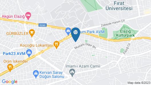 PANSİYON 23 Map