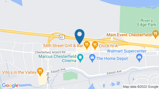 Holiday Inn Express & Suites St. Louis - Chesterfield, an IHG Hotel Map