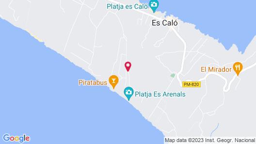 Pinos Playa Suites Map