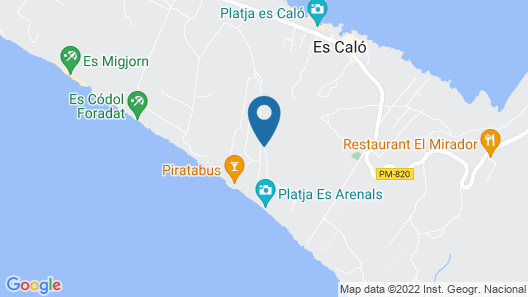 Pinos Playa Suites Map