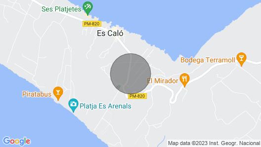 Apartment in Es Caló Area Map