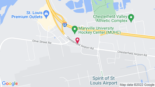 Comfort Inn & Suites St. Louis - Chesterfield Map