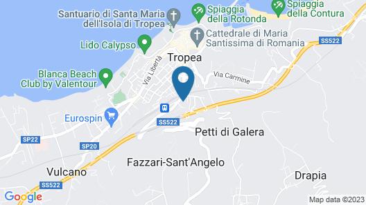 Borgo Panoramico Map
